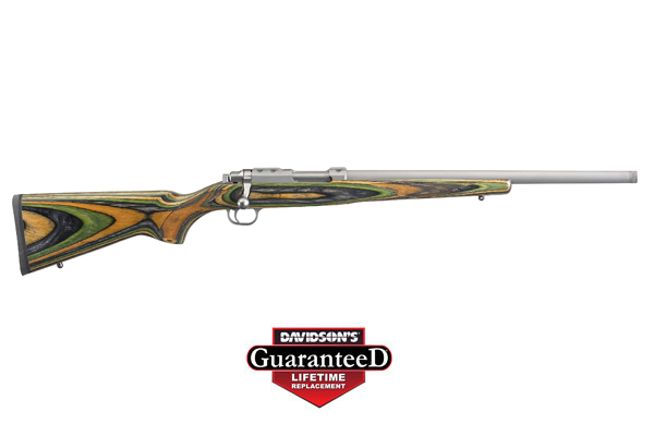 "RUGER 77/17 17HORN 18.5"" 6RD STS/GRN - for sale"