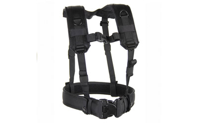 BH LOADBEARING SUSPENDERS/HRNS BLK - for sale