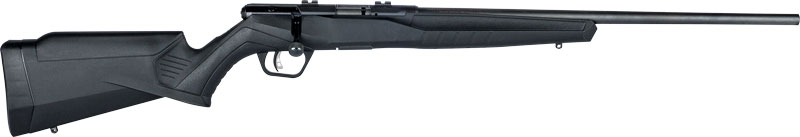 "SAVAGE B22F MAGNUM .22WMR 21"" SPORTER BBL ACU-TGR BLACK SYN - for sale"
