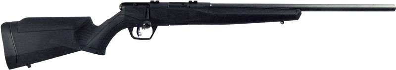 "SAVAGE B22FV MAGNUM .22WMR 21"" HEAVY BBL ACU-TGR BLACK SYN - for sale"