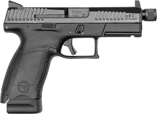 CZ P-10 COMPACT 9MM FS 17-SHOT POLYMER BLK SUPPRESSOR READY ! - for sale