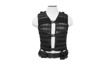 NCSTAR VISM MOLLE VEST MED-2XL BLK - for sale