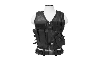NCSTAR TACTICAL VEST MED-2XL BLK - for sale