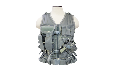 NCSTAR TACTICAL VEST MED-2XL DGTL - for sale