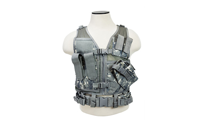 NCSTAR VISM TACTICAL VEST XS-SM DGTL - for sale