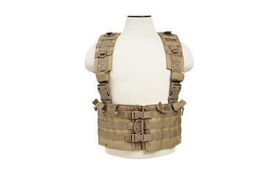 NCSTAR VISM AR CHEST RIG TAN - for sale