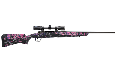 "SAVAGE AXIS XP YOUTH .223 20"" 3-9X40 MATTE/MUDDY GIRL ERGO - for sale"
