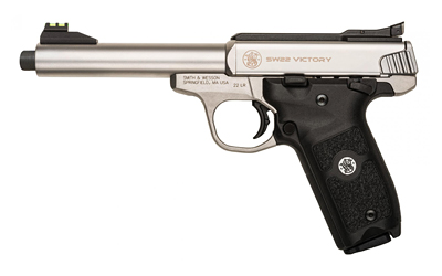 "S&W VICTORY 22LR 10RD 5.5"" THRD BBL - for sale"