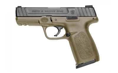 "S&W SD40 40S&W 4"" 14RD FDE FS 2MAGS - for sale"
