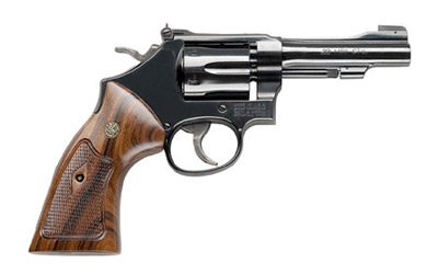 "S&W 48 22WMR 4"" 6RD BL WD AS - for sale"
