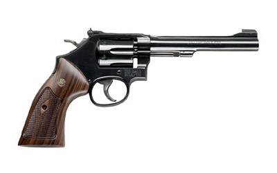 "S&W 48 22WMR 6"" 6RD BL WD AS - for sale"