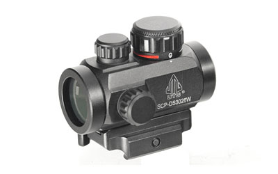 "UTG 2.6"" ITA RED/GRN DOT SIGHT W/MNT - for sale"