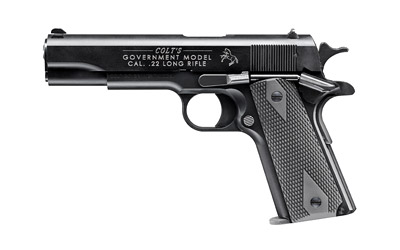 "WAL COLT 1911 GOVT 22LR 5"" 12RD BLK - for sale"